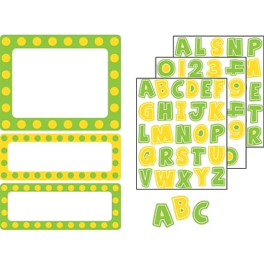 Carson-Dellosa Lemon Lime Stickers, Grades PK - 8