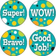 Carson-Dellosa Teal Appeal Motivators Stickers
