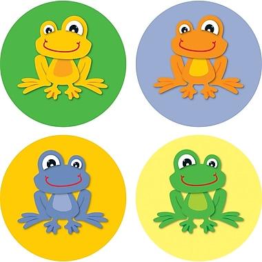 Carson-Dellosa FUNky Frogs Chart Seals, Grades PK - 8