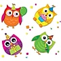 Carson-Dellosa Celebrate with Colorful Owls Stickers