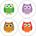 Carson-Dellosa Colorful Owls Stickers