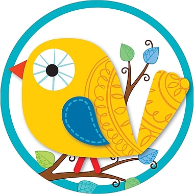 Carson-Dellosa Boho Birds Two-Sided Decoration