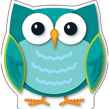 Carson-Dellosa Colorful Owl, Two-Sided Decoration