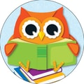 Carson-Dellosa Reading Owl, Two-Sided Decoration