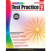Spectrum® Test Practice Workbook, Grade 2