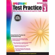 Spectrum® Test Practice Workbook, Grade 3