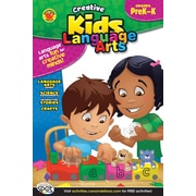 Brighter Child Language Arts Workbook, Grades PK - K