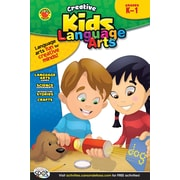 Brighter Child Language Arts Workbook, Grades K - 1