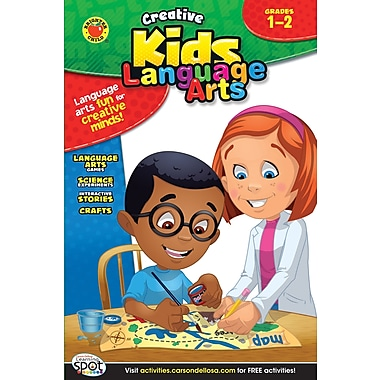 Brighter Child Language Arts Workbook, Grades 1 - 2
