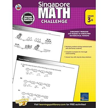 Frank Schaffer Singapore Math Challenge Workbook, Grades 3 - 5