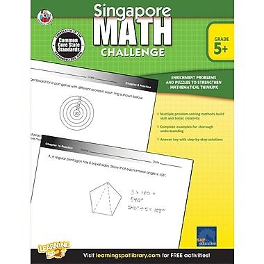 Frank Schaffer Singapore Math Challenge,Workbook,352 pages