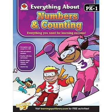 Carson-Dellosa Numbers & Counting Workbook