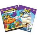 Brighter Child Underwater Alphabet & Sea Shapes Workbook