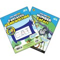 Brighter Child Number Safari & Fantastic Handwriting Workbook