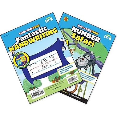 Brighter Child Number Safari & Fantastic Handwriting Workbook