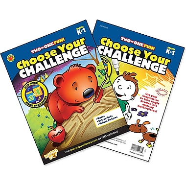 Brighter Child Choose Your Challenge Workbook, Grades K - 1