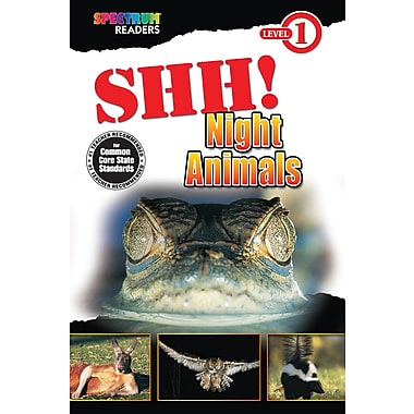 Spectrum Shh! Night Animals Reader