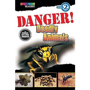 Spectrum Danger! Deadly Animals Reader