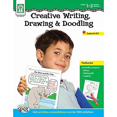 Key Education Creative Writing, Drawing, & Doodling Workbook