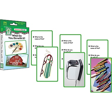 Key Education What Do You Do with It? Learning Card