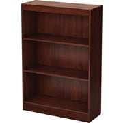 South Shore™ Work ID 3-Shelf Bookcase, Royal Cherry