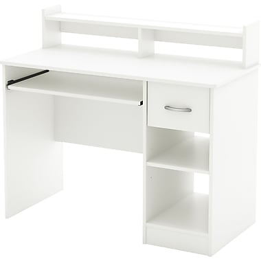 South Shore Metro Desk, White
