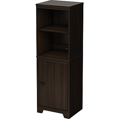South Shore Theory Bookcase, Mocha
