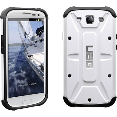 Urban Armor Gear Composite Hybrid Case for Samsung Galaxy S III, White/Black