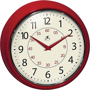 Infinity Instruments Retro Redux Wall Clock