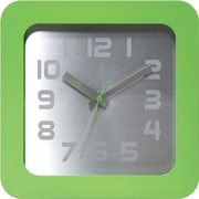 Infinity Instruments Times Squared Wall/Tabletop Clock, Lime Green