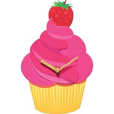 Infinity Instruments Sweet Delight Cup Cake, Novelty Clock