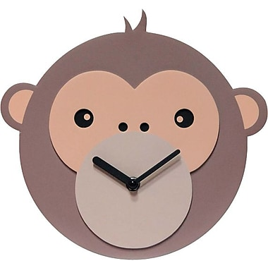Infinity Instruments Monkey Business  Novelty, Wall Clock