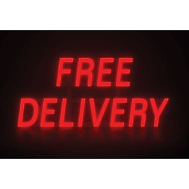 Mystiglo LED Free Delivery  In-Light Sign