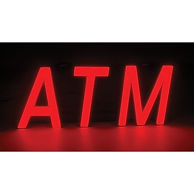 Mystiglo LED ATM In-Light Sign