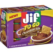 Jif® To Go™ Chocolate Silk Spread, 1.5 oz. Cups, 8 Cups/Box