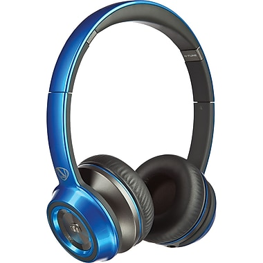 Monster NCredible N-Tune On-Ear Headphones, Blue