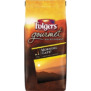 Folgers Gourmet Selections Ground Coffee, Morning Cafe, 10 oz. Bag