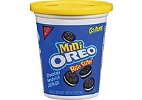Oreo® Go Packs! Mini Oreo Cookies, 3.5 oz. Cups, 8 Cups/Box
