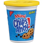 Chips Ahoy! Go Packs! Mini Chocolate Chip Cookies, 3.5 oz. Cups, 8 Cups/Box