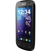 BLU Dash 4.0 D270a Unlocked GSM Dual-SIM Android Cell Phone, Black