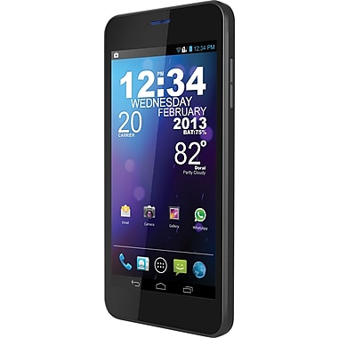 BLU Vivo 4.65 D930a GSM Unlocked Dual SIM Android Cell Phone, Black