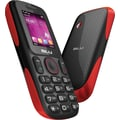 BLU Tank T190i GSM Unlocked Dual SIM Cell Phone, Black/Red
