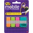 Post-it Mobile Attach and Go Assorted Tabs, 40 Tabs/Pack