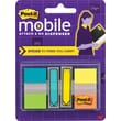 Post-it Mobile Attach and Go Assorted Arrow Flags and Tabs, Each