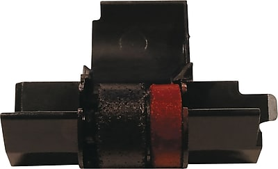 Victor IR40 IR40T Calculator Ink Roller Black Red 1 Roll