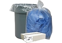 Webster Classic® Clear Trash Bags, 55-60 Gallons, 100 Bags/Box