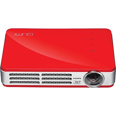 Vivitek Qumi Q5 HD720p LED Pocket Projector, Red