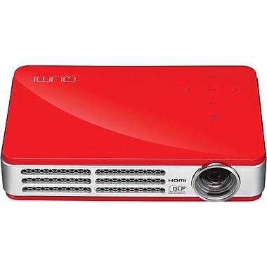 Vivitek Qumi Q5 HD720p LED Pocket Projector, Red