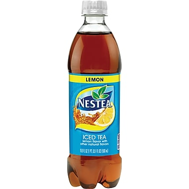 Nestea® Iced Tea, Lemon, 16.9 fl. oz. Bottles, 12/Pack