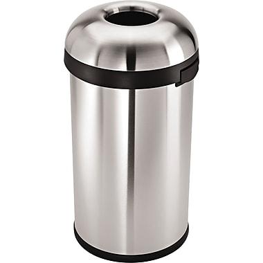 simplehuman® Bullet Open Trash Can, 16 gal.